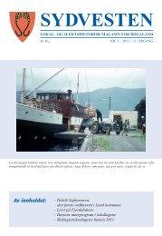 Sydvesten 2011-3.pdf - Rogaland Historielag