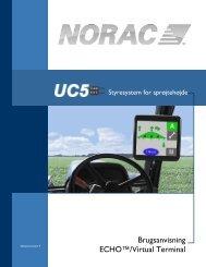 Brugsanvisning ECHO™/Virtual Terminal - Norac