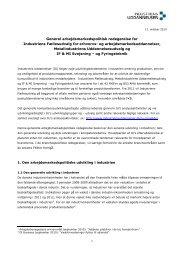 Fælles arbejdsmarkedspolitisk redegørelse - Industriens Uddannelser