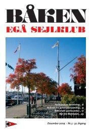 December 2009 · Nr. 5 · 32. årgang Formandens ... - Egå Sejlklub