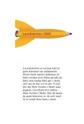 #Læseraketten 2006.indb - Hele Verden i Skole