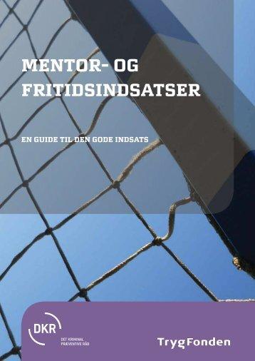 mentor- og fritidsindsatser - Det Kriminalpræventive Råd