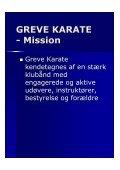 Vision & mission 2012-2017 - Greve Karate - Page 6