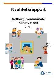 Kvalitetsrapport - Aalborg Kommunale Skolevæsen