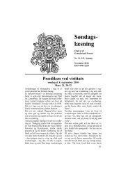 Søndags- læsning - Grundtvig