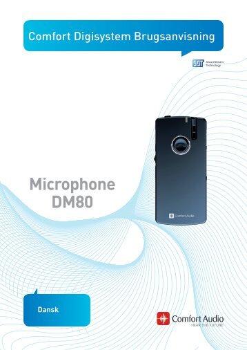 Microphone DM80 - Comfort Audio