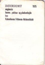 overenskomst år 1975 - Havnearbejdernes Klub af 1980