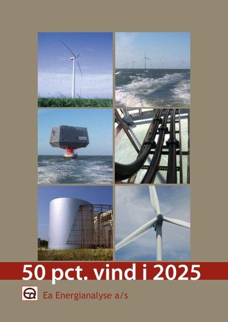 50 pct. vind i 2025 - Ea Energianalyse
