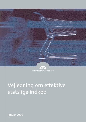 Vejledning om effektive statslige indkøb - Finansministeriet