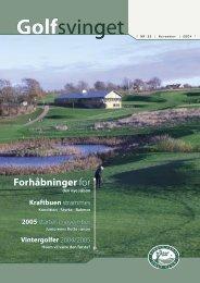 Golfsvinget - Aarhus Aadal Golf Club
