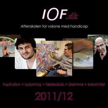 Aftenskolen for voksne med handicap inspiration • oplysning ... - IOF
