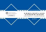 APV skemarettelser 2 - BAR - service og tjenesteydelser.
