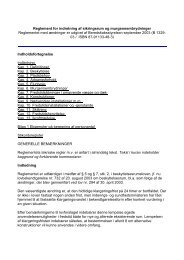 Reglement for indretning af sikringsrum og murgennembrydninger