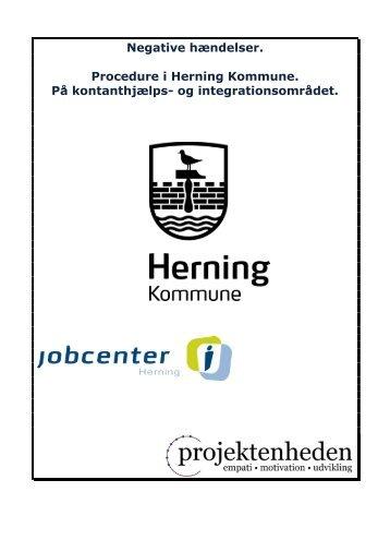 Indkaldelse til jobsamtale (og sygeopfølgningssamtale) - Herning ...