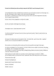 Referat fra stiftende generalforsamling, den 10. juni 2010 - Læsø ...