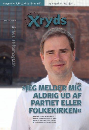 Læs Xryds i din lokale sognekirke eller ved at trykke lige ... - Århus Stift
