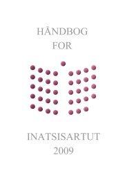 Håndbog for medlemmer af Inatsisartut