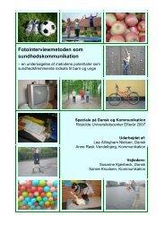 Speciale om fotointerviewmetoden som sundhedskommunikation