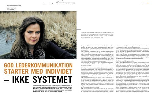 STARTER MED INDIVIDET - Anne Katrine Lund
