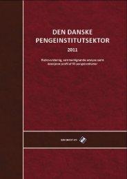"""Den danske pengeinstitutsektor 2011"""" udgives af Niro Invest"""