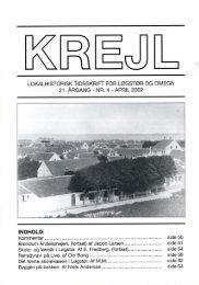 21. årgang nr. 4 - Lokalhistorisk Arkiv for Løgstør Kommune