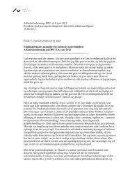 Afskedsforelæsning, DPU, d. 8. juni 2012 Revideret med - Institut for ...