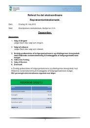 Referat af repræsentantskabsmøde 30-05-2012
