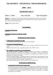 Referat 10-03-10 - Skamstrup-Frydendal Pastorat