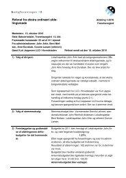 13.10.2010 Referat fra budgetafdelingsmøde - Boligforeningen 3B