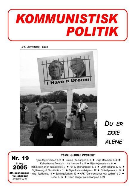 Kommunistisk Politik 19, 2005