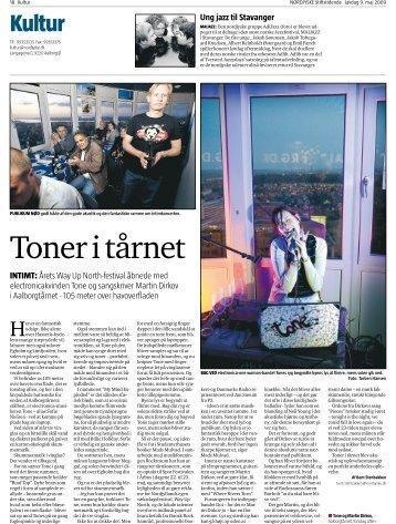 reportage, Nordjyske Stiftstidende, 2009
