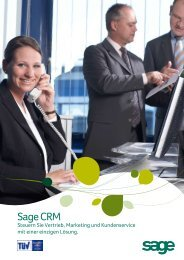 Sage CRM Broschüre v7.1 - Anywhere.24