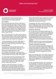 Faktaark 2008/7 - Utdanningsforbundet
