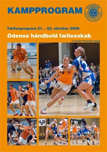 Se kampprogrammet for weekendens hjemmekampe her - Odense ...