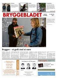 Bryggen – et godt sted at være - Bryggebladet