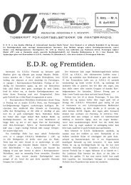 E.D.R. og Fremtiden.