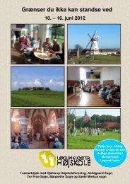 Grænser du ikke kan standse ved 10. – 16. juni 2012 - Vor Frue Kirke