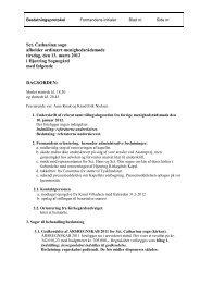 Referat fra 13. marts 2012 - Sct. Catharinae Kirke