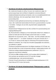 Overførsel af hvilende arbejdsmarkeds-/tillægspension ... - CS fonde