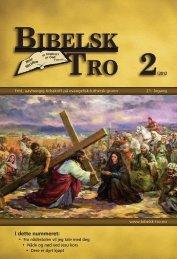 Bibelsk Tro nr.2 2012 - Shafan.dk