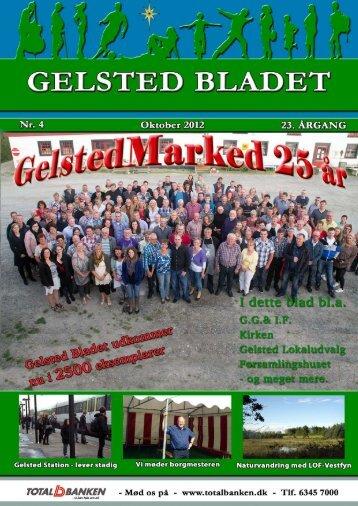 7 dage om ugen, Mandag - søndag 8:00 - GelstedBladet