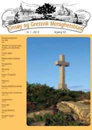 Det nye nummeret av - Menighetsbladet