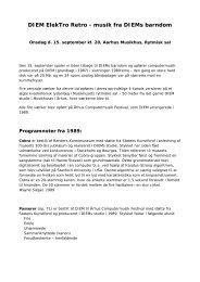 Programnoter - musikkons.dk