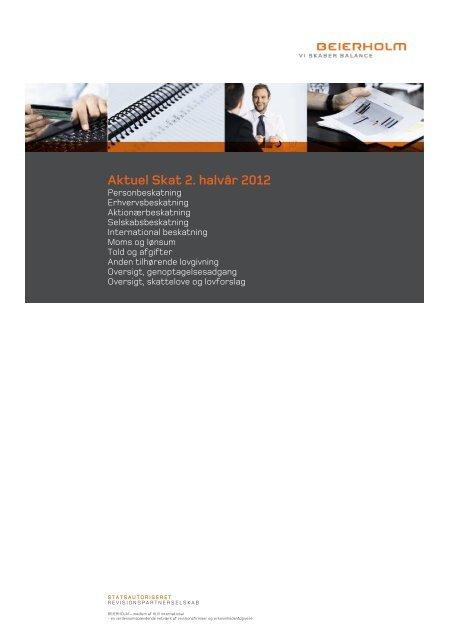 Aktuel skat 2. halvår 2012 - Beierholm