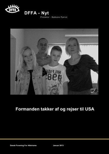 HENT bladet her - Dansk forening for Albinisme