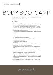 BODY BOOTCAMP - Arndal Spa & Fitness