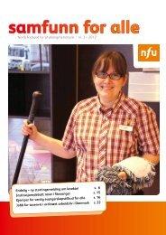 Samfunn for alle nr. 3/2012 - NFU