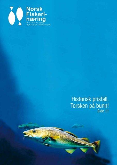 Historisk prisfall. Torsken på bunn! - Norsk Fiskerinæring
