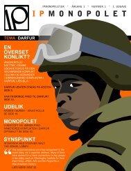 DARFUR – En overset konflikt? - IPmonopolet