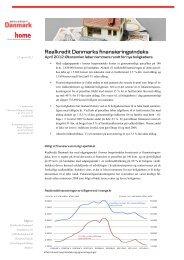 Læs hele analysen om udviklingen i kvadratmeterpris og renteniveau